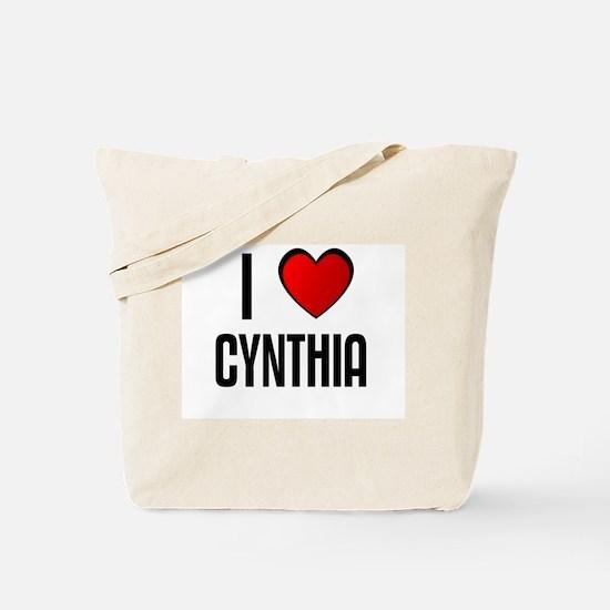 I LOVE CYNTHIA Tote Bag