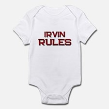 irvin rules Infant Bodysuit