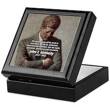 Truth Myth John F. Kennedy Keepsake Box