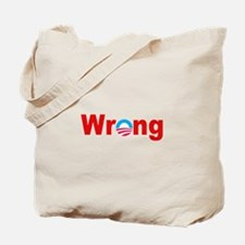 """Wrong"" Tote Bag"