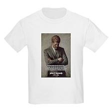 Man / War John F. Kennedy Kids T-Shirt