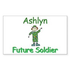 Ashlyn - Future Soldier Rectangle Decal