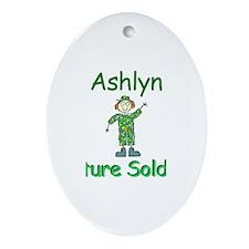 Ashlyn - Future Soldier Oval Ornament