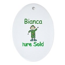 Bianca - Future Soldier Oval Ornament