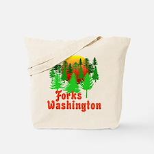Forks Washington Twilight Tote Bag