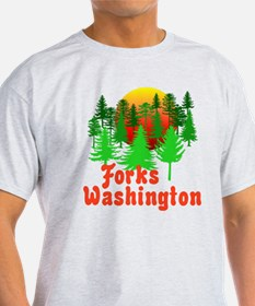 Forks Washington Twilight T-Shirt