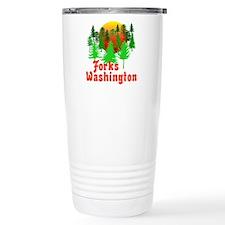 Forks Washington Twilight Travel Mug