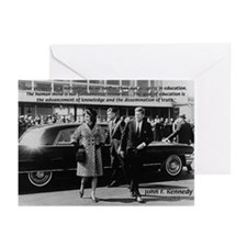 Education John F. Kennedy Greeting Cards (Package