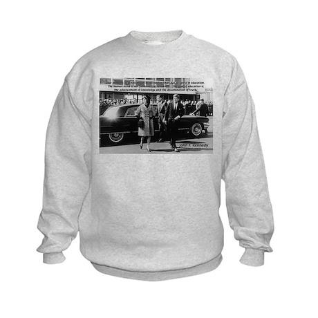 Education John F. Kennedy Kids Sweatshirt