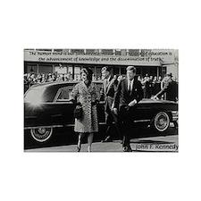 Education John F. Kennedy Rectangle Magnet