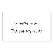 I'm training to be a Theater Producer Decal