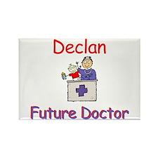 Declan - Future Doctor Rectangle Magnet
