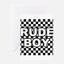rude boy2 Greeting Cards