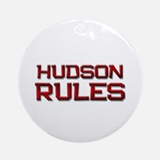 hudson rules Ornament (Round)