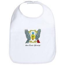 Sao Tomean Coat of Arms Seal Bib