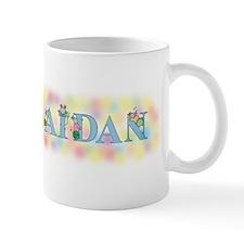 """Aidan"" with Mice Mug"