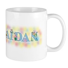 """Aidan"" with Mice Mug"
