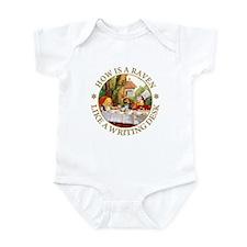 MAD HATTER'S RIDDLE Infant Bodysuit