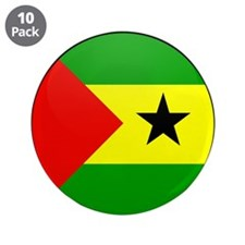 "SAO TOME AND PRINCIPE 3.5"" Button (10 pack)"