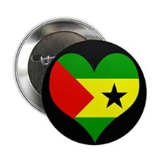 "I love SAO TOME AND PRINCIPE 2.25"" Button"