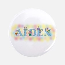 """""""Aiden"""" with Mice 3.5"""" Button"""
