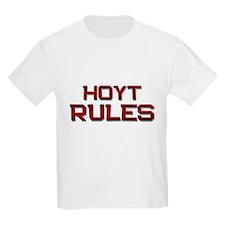 hoyt rules T-Shirt