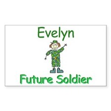 Evelyn - Future Soldier Rectangle Decal