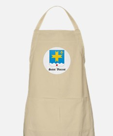 Vincentian Coat of Arms Seal BBQ Apron