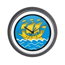 Saint Pierre & Miquelon Wall Clock