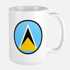 Saint Lucia Large Mug