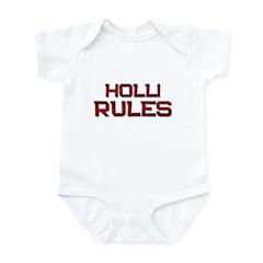 holli rules Infant Bodysuit