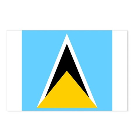 Saint Lucian Postcards (Package of 8)