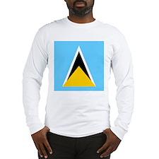Saint Lucian Long Sleeve T-Shirt