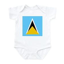 Saint Lucian Infant Bodysuit