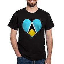 I Love Saint Lucia T-Shirt