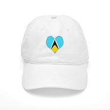 I Love Saint Lucia Baseball Cap