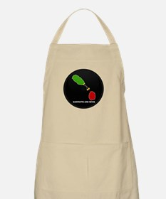 Flag Map of saint kitts and n BBQ Apron