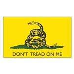 Gadsden Flag Rectangle Sticker