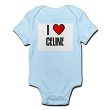 I LOVE CELIA Infant Creeper
