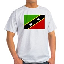 saint kitts and nevis Flag T-Shirt