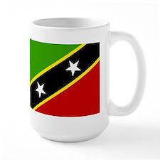 saint kitts and nevis Flag Mug
