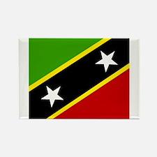 Saint Kittian Rectangle Magnet