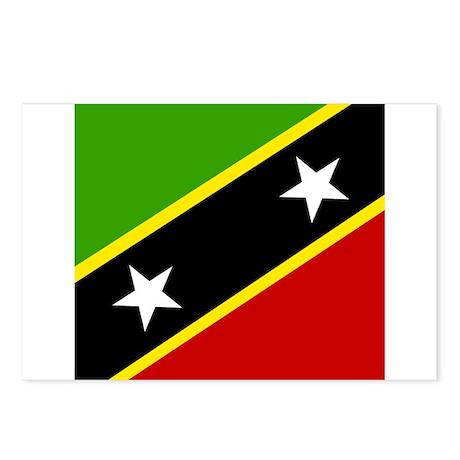 Saint Kittian Postcards (Package of 8)