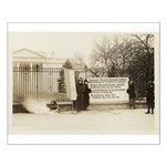 NWP Watch Fire White House PIckets Poster