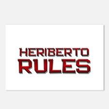 heriberto rules Postcards (Package of 8)