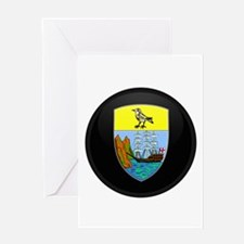 Coat of Arms of Saint Helena Greeting Card