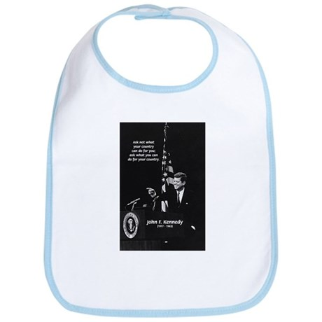 Famous Quote from JFK Bib