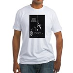 Famous Quote from JFK Fitted T-Shirt