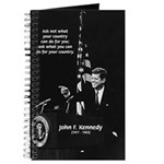 Famous Quote from JFK Journal