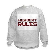 herbert rules Sweatshirt